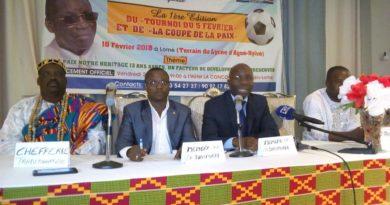Du foot pour préserver l'idéal de paix du feu Général Eyadéma